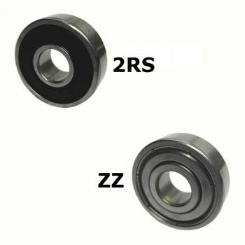 Kugellager MR106 ZZ 6x10x3 mm Miniaturkugellager Rillenkugellager Wälzlager